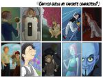 Can you guess my favourite characters? by Anjona