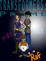 TFP Human Trio by transformersgirl84