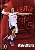 Blake Griffin Post Card by funky23