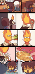 Grillby by Ssalbug