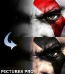 Kratos HD Wallpaper by pauloreg