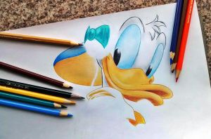Disney's Donald Duck by filipeoliveira