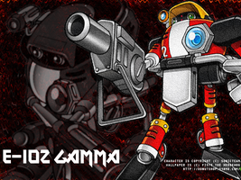 Monthly Wallpaper: Gamma by fistsh