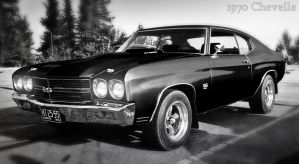 1970 Chevelle Wallpaper by Mysterious-Master-X