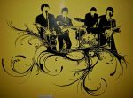 Beatles on my bedroom wall by rubber--soul
