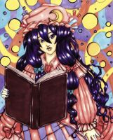 Patchouli Knowledge Marker Portrait by About12Kittens