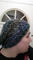 Slouchy hat by Brokenangelr