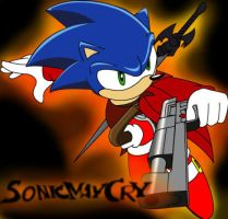 Devil May Cry Sonic by TheWax