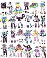 SOLD- GuppieClothes by Guppie-Adopts