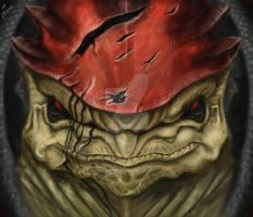 Wrex-Mass Effect by Pandoras-Encore