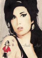 Amy Winehouse by JudeVi