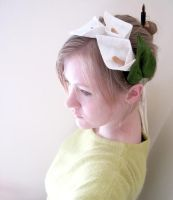 Calla Lily Headband by nolwen