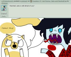 Question 39: Ask Fionna, Cake and Marshall lee by PolitosBurritos