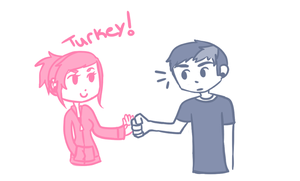 Beau Likes Turkey by SanityAnthem