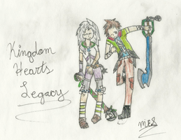 Two Keyblade Wielders~ Request for storykeeper03 by CutePoochyena261