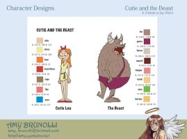 Cutie and the Beast by cakesniffer2000