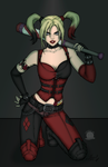 Harley Quinn Rot There Baby by Blackmoonrose13