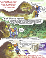 Off the Grid: Intelligent Life Forms by inkwolf