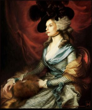 Almost like Mrs. Siddons by ellaine