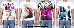 Typo T-Shirts 2 by palax