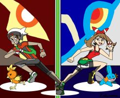 omega ruby and alpha sapphire by ObsidianWolf7