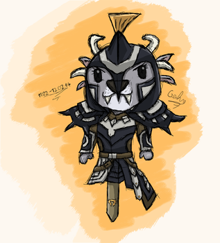 Vigil Charr Plush by Gecko-7