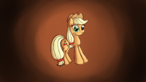 Applejack Wallpaper by malamol
