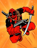 Deadpool Drawing by scootah91