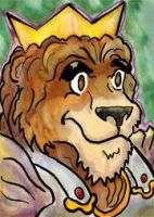 Sketch Card for Crown jr by kanderson137