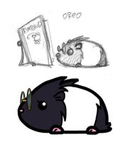 Oreo - rough to Flash by halley42