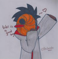 Tobi is a good boy by sawarineko