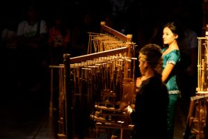 Angklung Performers by ren241295