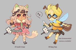 Adopts Auction: Garden Cliques (closed) by cottonpuffs