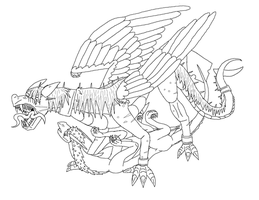 rescue lineart for horizon by SanguineJustice