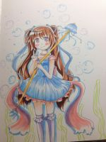 Jelly Fish Girl by LovableQueen
