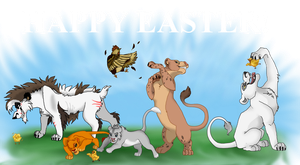 Happy Easter! TLK Inspirations by lord-pinkerton