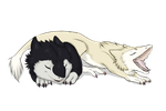 Sergal cubs by Sidgi