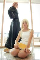 :KH: Rejoice, Namine by AlouetteCosplay