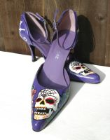 Day of the Dead Heels by kezbirdie