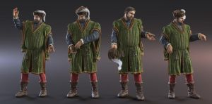 Late Medieval Merchant v1 by MacX85
