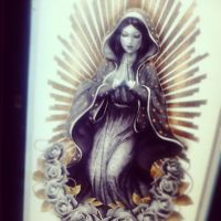 Virgin of Guadalupe_Comission by Lavah