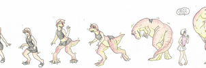 Trex Transformation by RaiinbowRaven