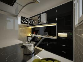 kitchen design by yasseresam