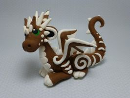 Gingerbread Dragon by Hybrid-Sheep