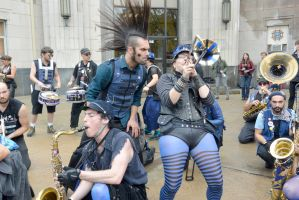 2014 Honk Festival, Chaotic Noise With A Look 3 by Miss-Tbones