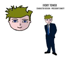 IVORY TOWER- President dimity by stranger-than-me