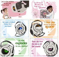 A VERY PORTAL VALENTINES DAY by AgentDax