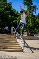Anthony Medina, fs lip slide by Weaselwoop