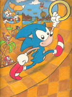 Sonic the Hedgehog by mattdog1000000