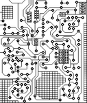 Circuit board by Chinichi2
